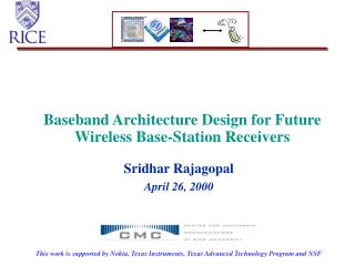 Baseband Architecture Design for Future Wireless Base-Station Receivers