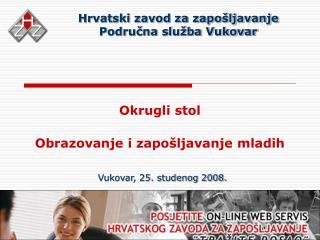 Hrvatski zavod za zapošljavanje Područna služba Vukovar