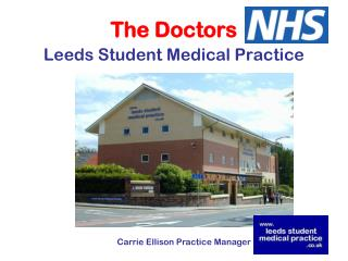 The Doctors Leeds Student Medical Practice