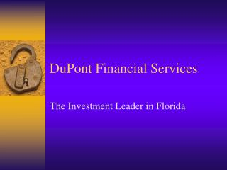DuPont Financial Services