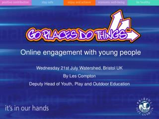 Online engagement with young people