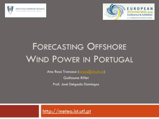 Forecasting Offshore Wind Power in Portugal