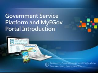 Government Service Platform and MyEGov Portal Introduction