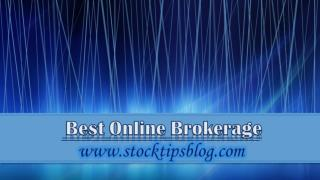 Best Online Brokerage