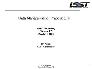 Data Management Infrastructure