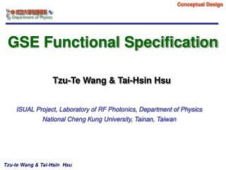 Tzu-Te Wang & Tai-Hsin Hsu