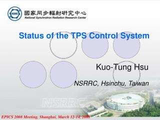 Status of the TPS Control System