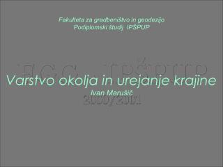 FGG - IPŠPUP 2000/2001