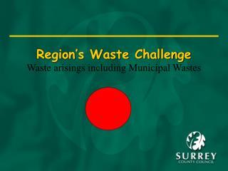 Region's Waste Challenge