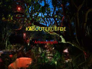 KABOUTERLIEFDE