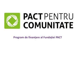 Program de finanțare al Fundației PACT