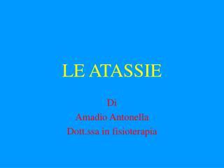 LE ATASSIE