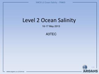 Level 2 Ocean Salinity