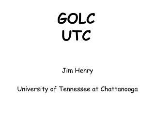 GOLC UTC