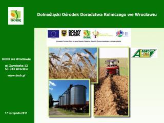 Dolnośląski Ośrodek Doradztwa Rolniczego we Wrocławiu