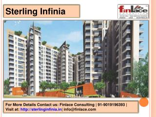 9019196393 | Sterling Infinia Residential Projects Bangalore