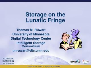 Storage on the