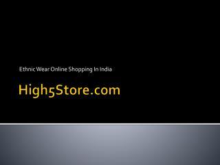 Shop different types of beautiful designer sarees online