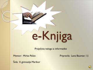 e- Knjiga