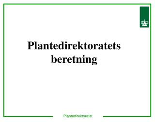 Plantedirektoratet