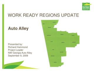 WORK READY REGIONS UPDATE