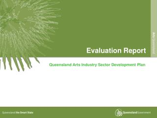 Queensland Arts Industry Sector Development Plan