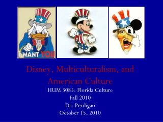 Disney, Multiculturalism, and American Culture