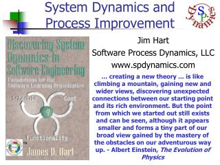 System Dynamics and Process Improvement