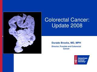Colorectal Cancer: