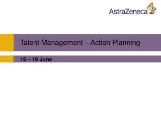 Talent Management – Action Planning