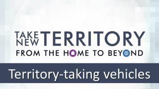 Territory-taking v ehicles