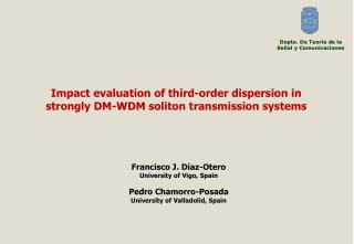 Impact evaluation of third-order dispersion in strongly DM-WDM soliton transmission systems