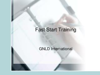 Fast Start Training