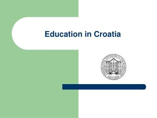 Education in Croatia