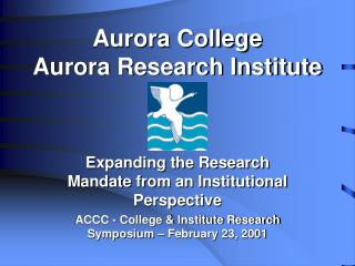 Aurora College  Aurora Research Institute