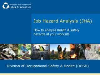 Job Hazard Analysis JHA