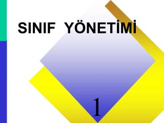 SINIF  Y�NET?M?