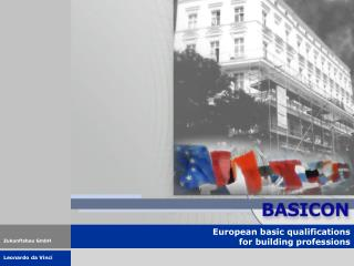 European basic qualifications  for building professions