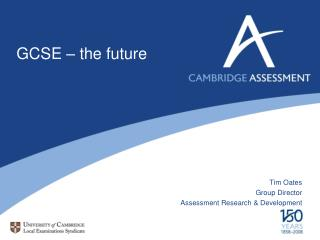 GCSE  �  the future