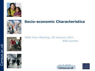 Socio-economic Characteristics