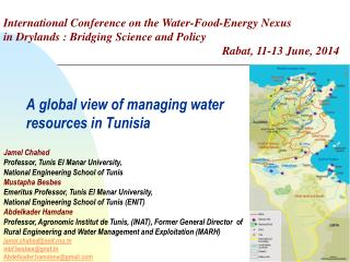 A global view of managing water resources in Tunisia