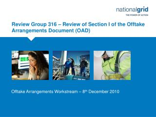 Review Group 316 – Review of Section I of the Offtake Arrangements Document (OAD)