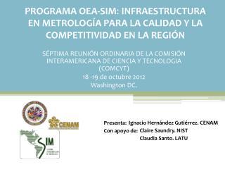 SÉPTIMA REUNIÓN ORDINARIA DE LA COMISIÓN INTERAMERICANA DE CIENCIA Y TECNOLOGIA (COMCYT)