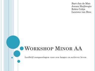 Workshop Minor AA