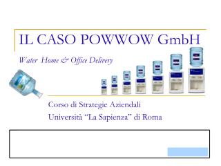 IL CASO POWWOW GmbH Water Home & Office Delivery
