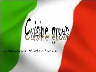 Cuisine group