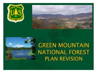 GMNF Forest Plan Revisions