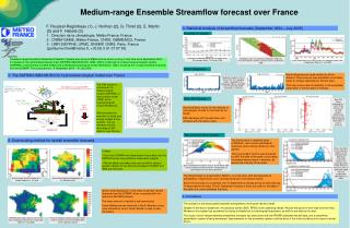 Medium-range Ensemble Streamflow forecast over France