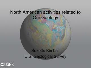 North American activities related to OneGeology