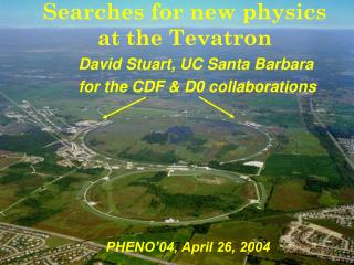 Searches for new physics at the Tevatron